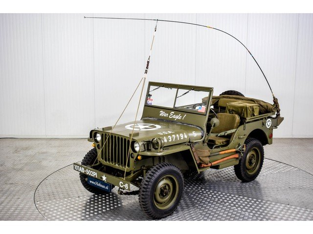 Willys Jeep MB 01-04-1945 For Sale (picture 3 of 6)