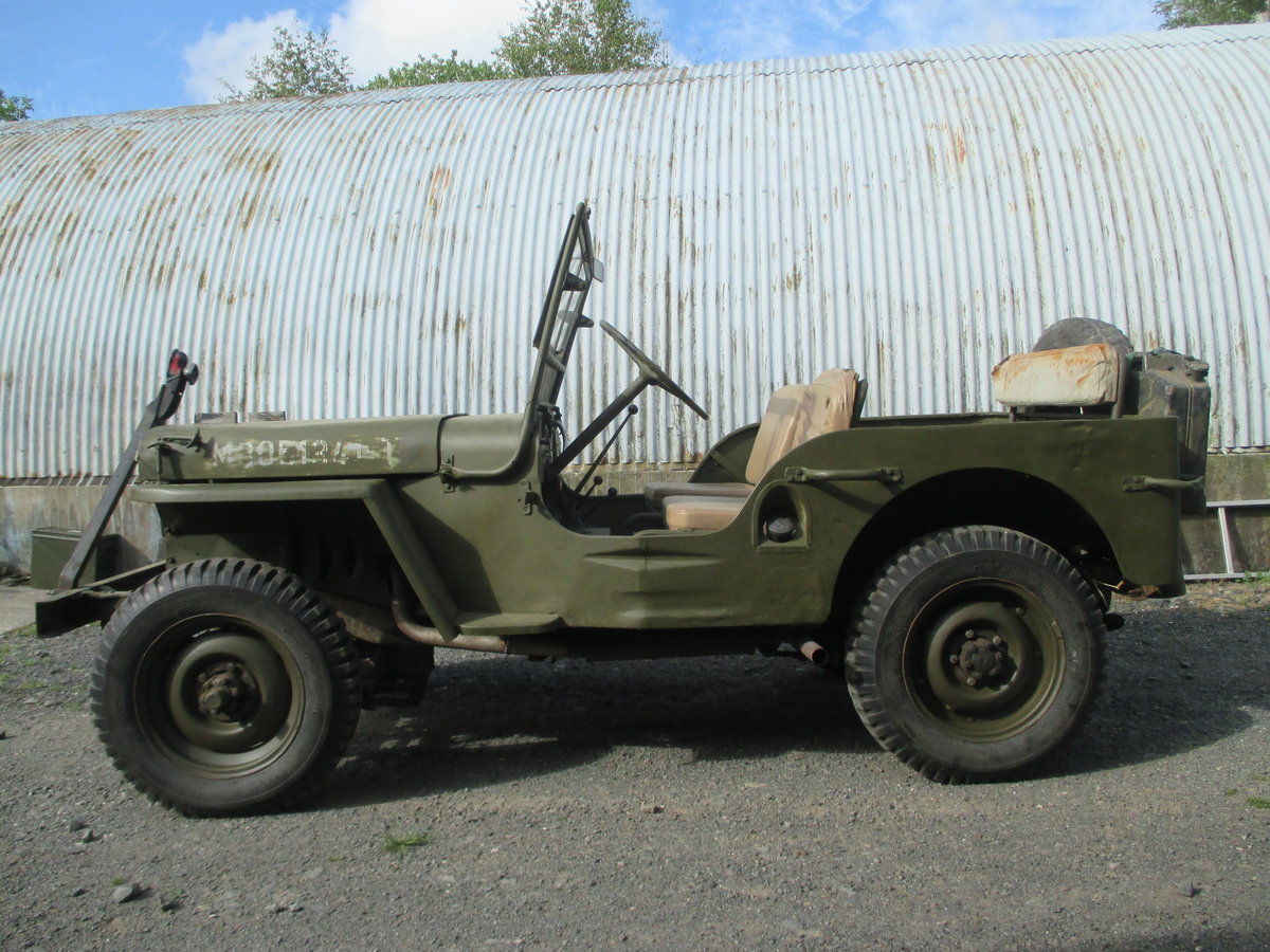 1942 willys jeep ford gpw ww2 engine included SOLD (picture 1 of 6)