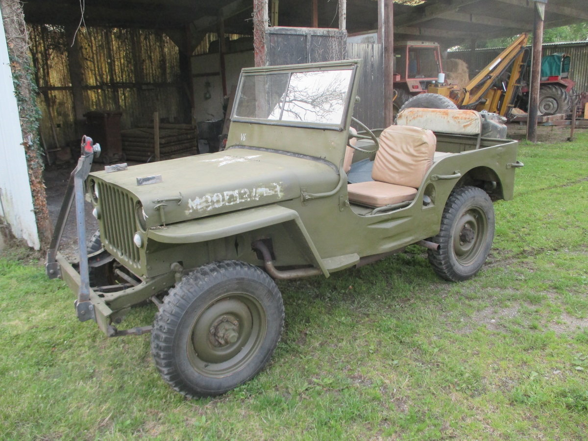 1942 willys jeep ford gpw ww2 engine included SOLD (picture 2 of 6)