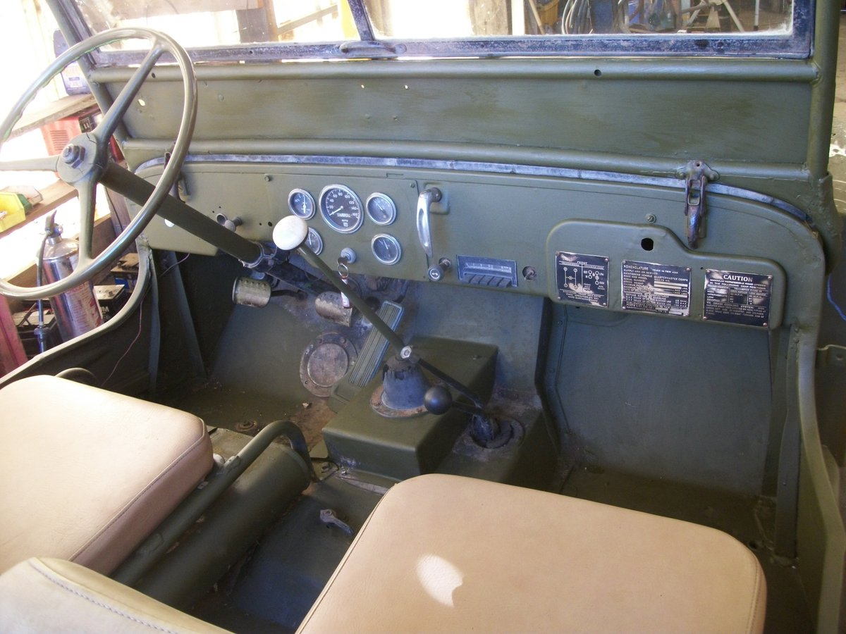 1942 willys jeep ford gpw ww2 engine included SOLD (picture 4 of 6)