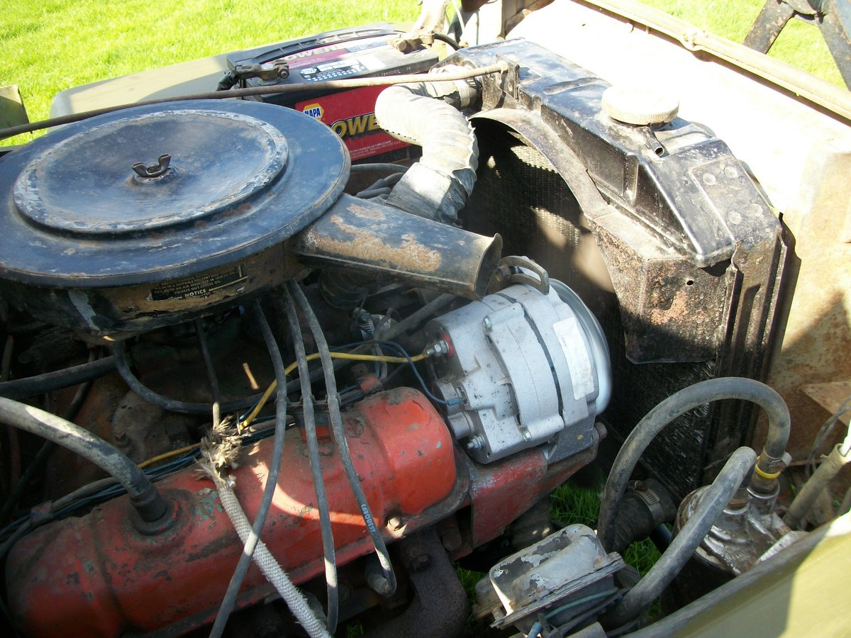 1942 willys jeep ford gpw ww2 engine included SOLD (picture 5 of 6)