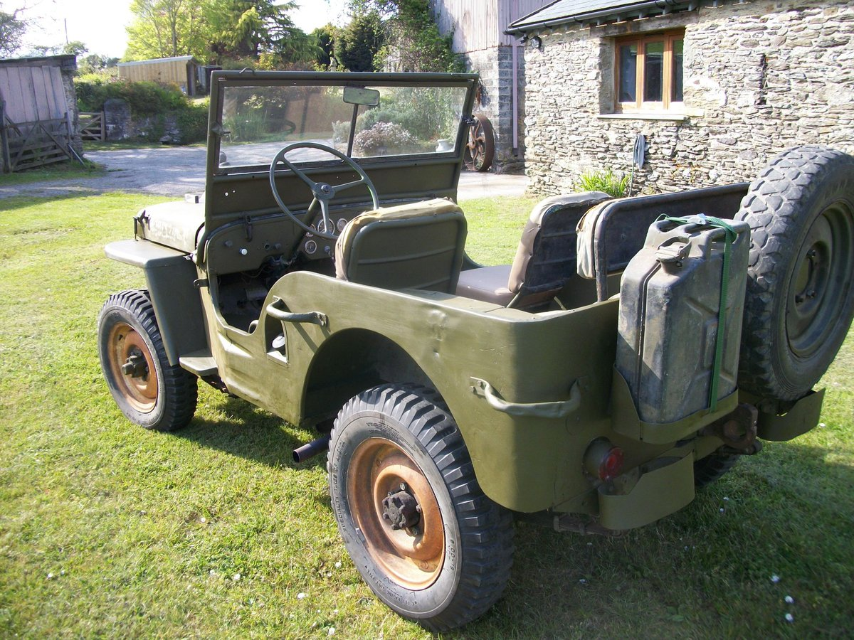 1942 willys jeep ford gpw ww2 engine included SOLD (picture 6 of 6)