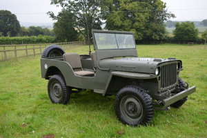 1942 Willys Jeep For Sale by Auction