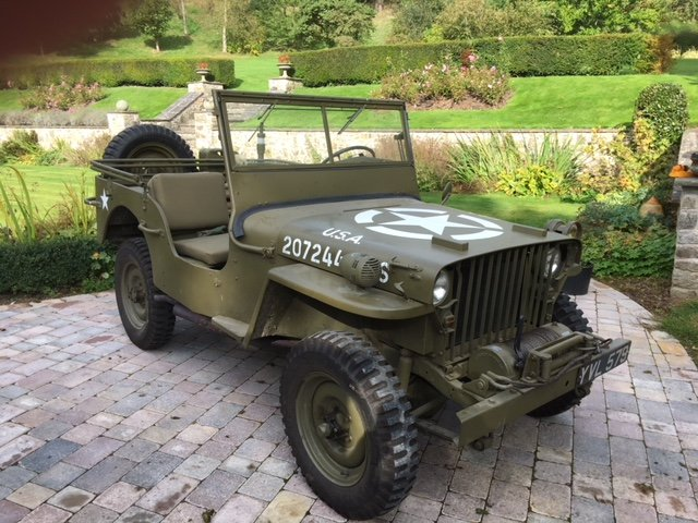Willys MB Jeep 1942 SOLD (picture 1 of 6)