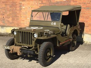 1944 Willys MB for sale - Excellent condition.