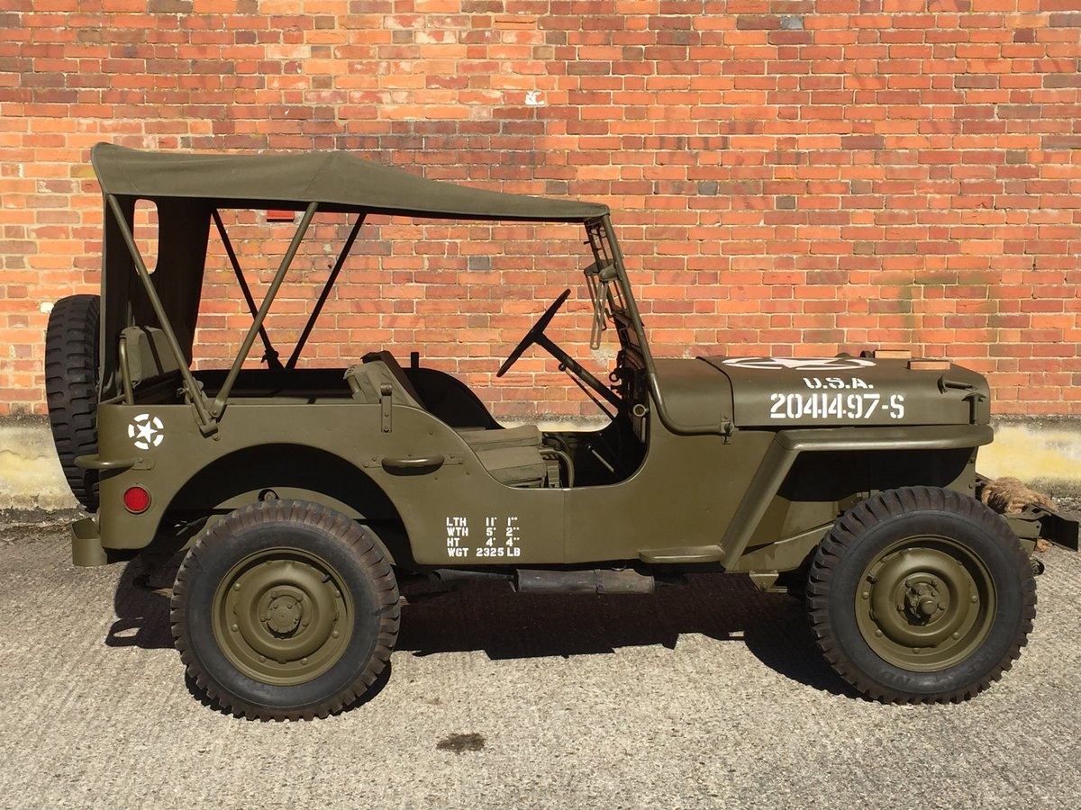 1944 Willys MB for sale - Excellent condition. SOLD (picture 3 of 6)
