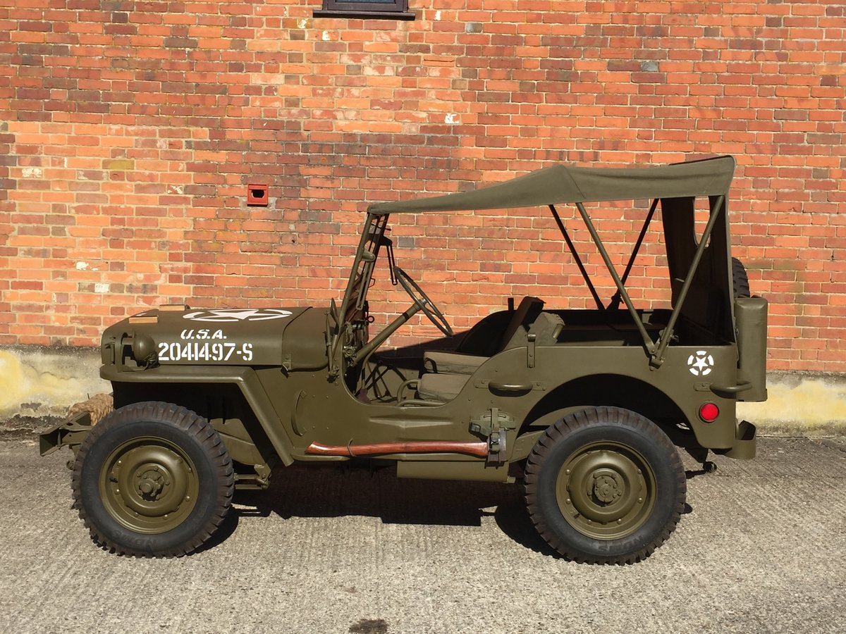 1944 Willys MB for sale - Excellent condition. SOLD (picture 4 of 6)