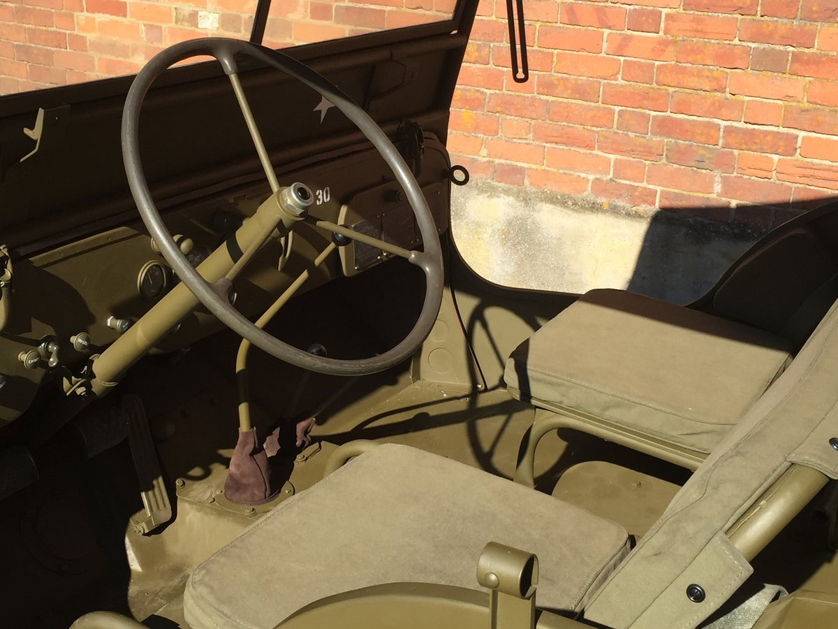 1944 Willys MB for sale - Excellent condition. SOLD (picture 5 of 6)