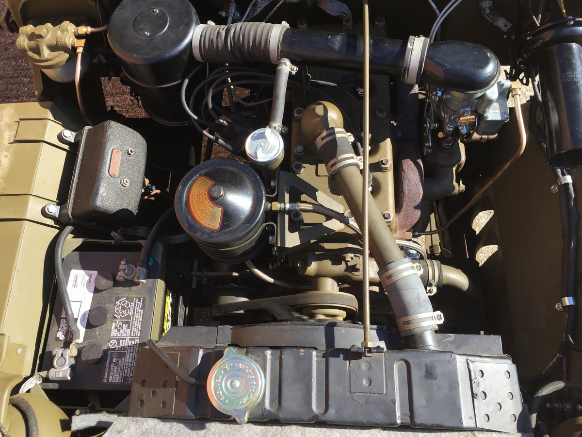1944 Willys MB for sale - Excellent condition. SOLD (picture 6 of 6)