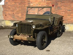 Willys MB For Sale - Very good condition. SOLD