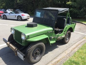 1947 CJ2A Jeep Willys For Sale