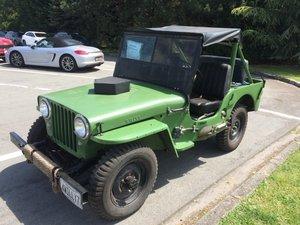 1947 CJ2A Jeep Willys