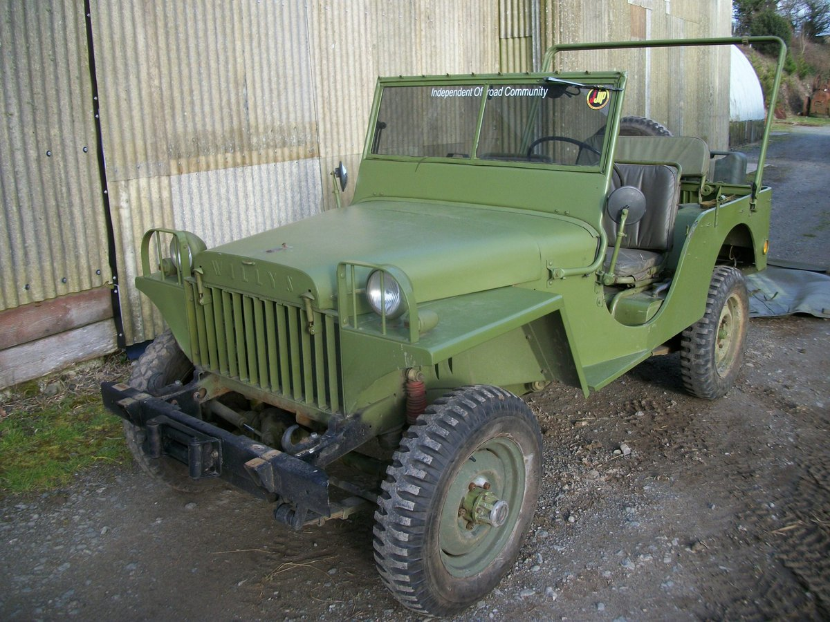 1967 WILLYS JEEP  SOLD (picture 4 of 6)