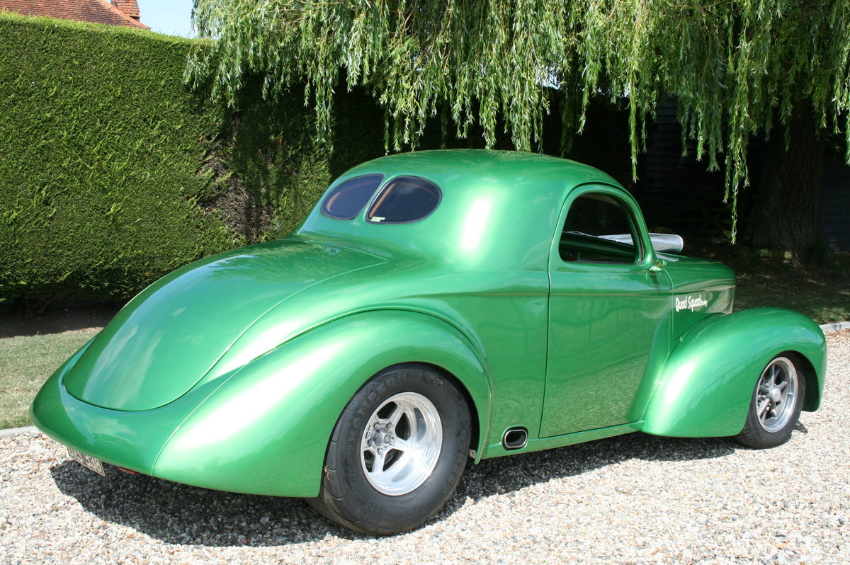 1941 Willys Coupe Blown V8 Hot Rod For Sale (picture 2 of 6)