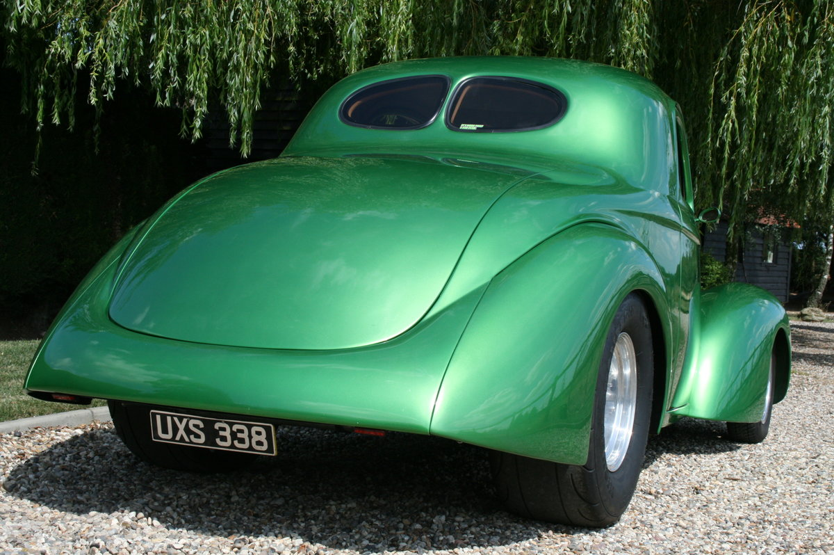 1941 Willys Coupe Blown V8 Hot Rod For Sale (picture 5 of 6)