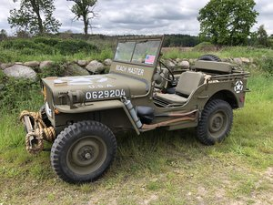 1944 Willys Overland MB (Beach Master) For Sale