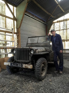 1961 Willys type jeep