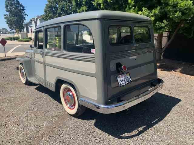 1951 Willys Wagon = clean solid Grey(~)Red driver  $24.9k For Sale (picture 3 of 6)