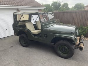 1955 Willys Jeep M38A1