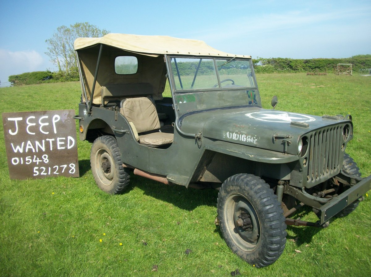 1960 willys or hotchkiss jeep Wanted (picture 1 of 4)