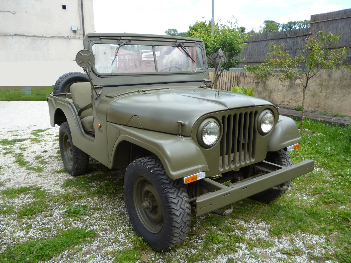 1956 Willys CJ5 Mediterranea For Sale (picture 1 of 6)