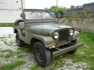 1956 Willys CJ5 Mediterranea