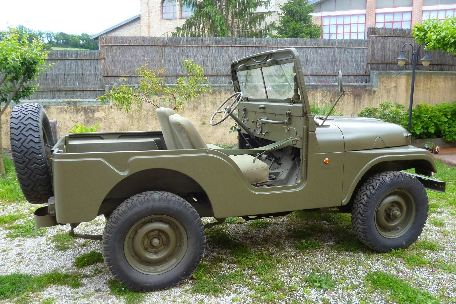 1956 Willys CJ5 Mediterranea For Sale (picture 4 of 6)