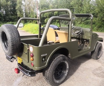 1994 Willys mahindra super rare low mileage  For Sale (picture 1 of 6)