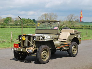 1944 WILLYS JEEP 4X4 LIGHT UTILITY For Sale by Auction