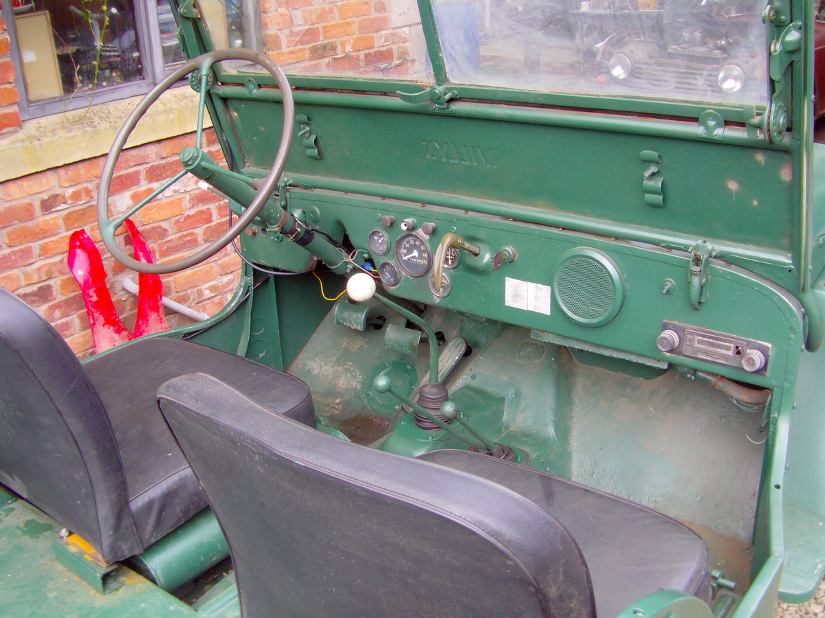 1948 willeys jeep For Sale (picture 6 of 6)