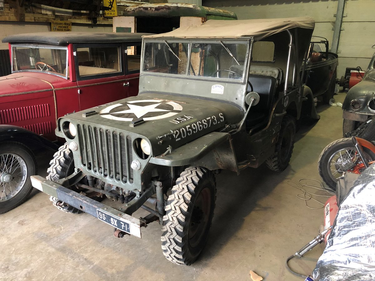 1943 MB Willys Jeep For Sale (picture 1 of 3)
