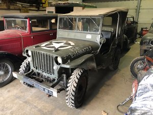 1943 MB Willys Jeep For Sale