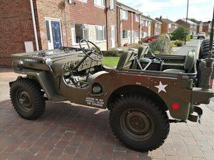1951 Willy's M38 Radio Jeep
