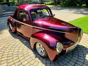 1941 Willys Pro Street Custom Coupe. (Park Ridge, OH) For Sale