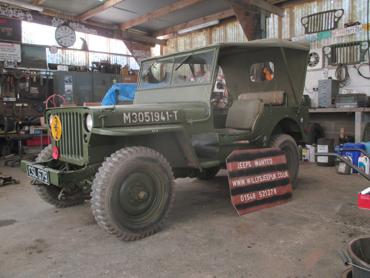 1962 willys jeep m201 SOLD (picture 1 of 6)