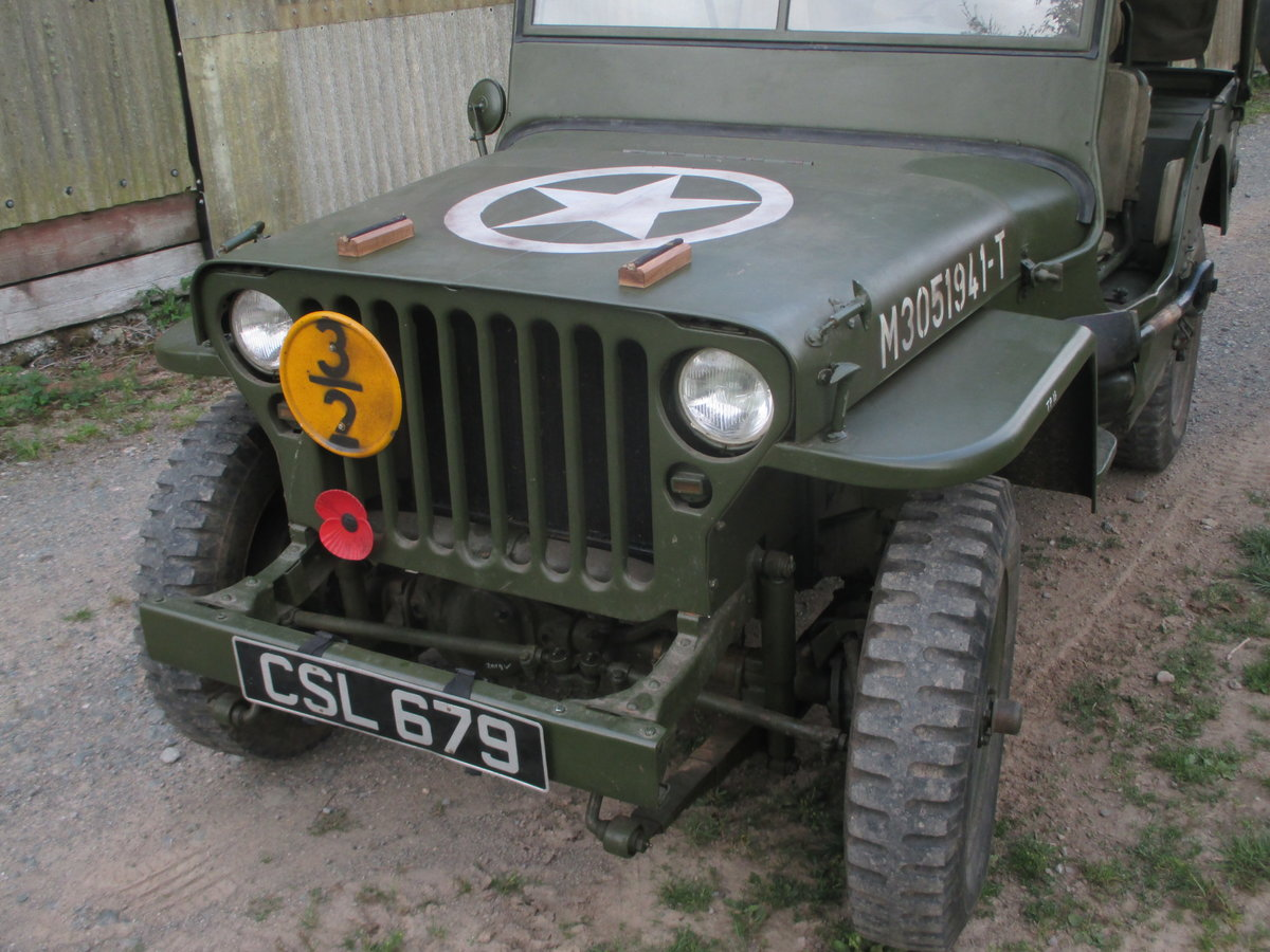1962 willys jeep m201 SOLD (picture 3 of 6)