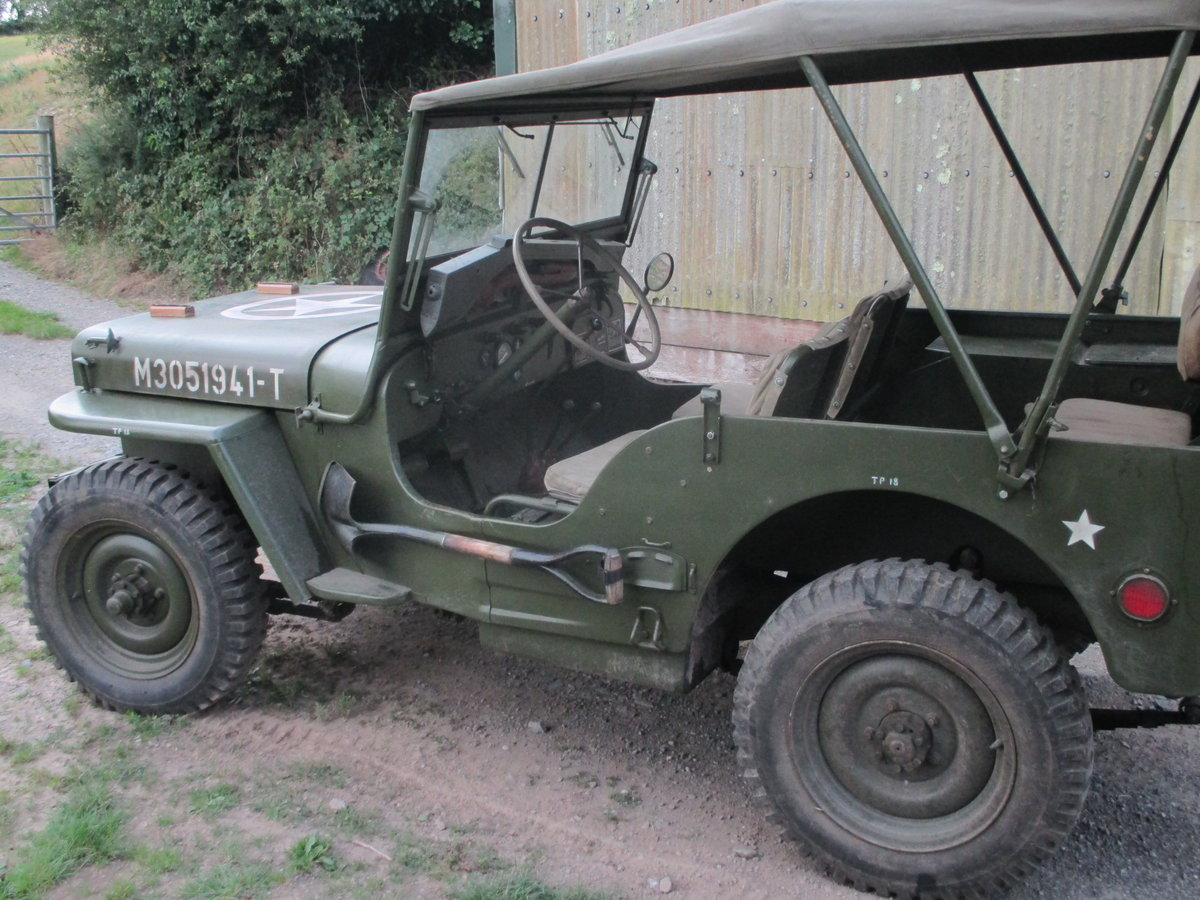 1962 willys jeep m201 SOLD (picture 4 of 6)