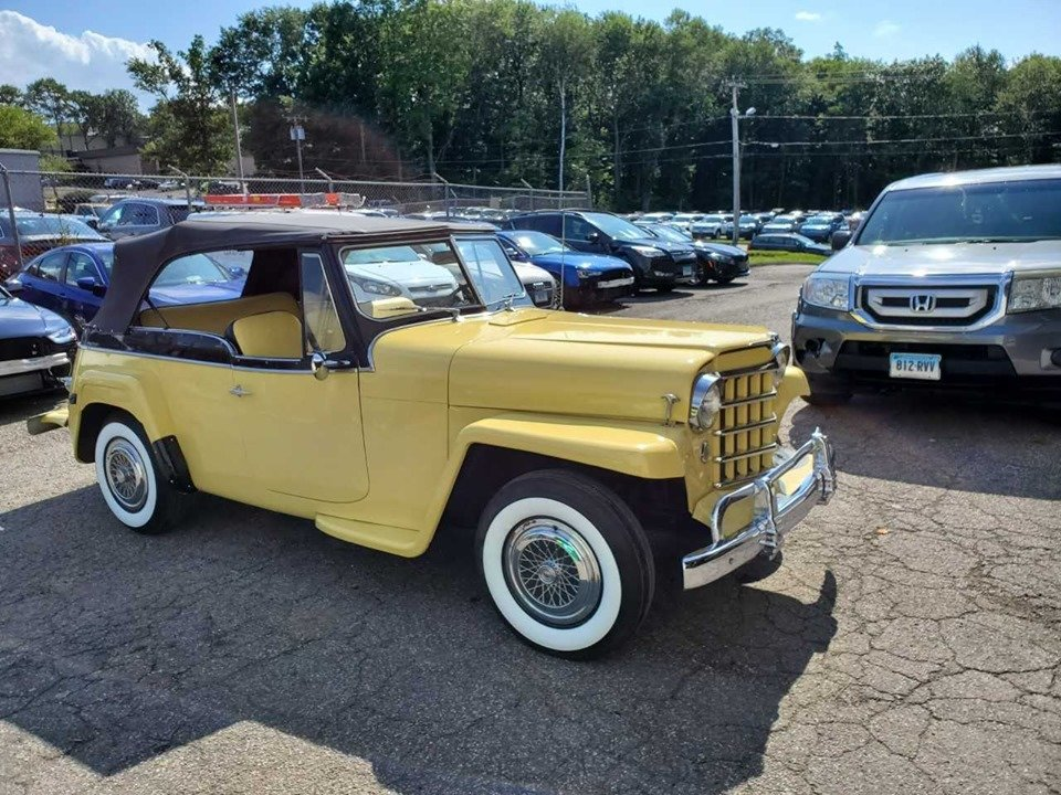 1952 Willys Jeepster (Watertown, CT) $27,500 obo For Sale (picture 1 of 6)