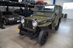 Orig California 1947 Willys Jeep CJ2A