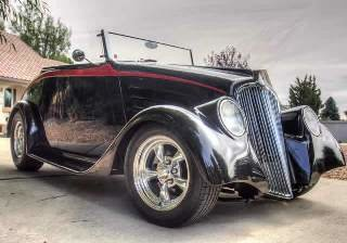 1933 Willys Roadster all Custom 383 stoker 9 inch  $39.7k For Sale