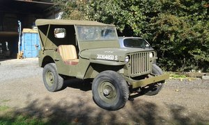 1945 WILLYS MB WW2 JEEP