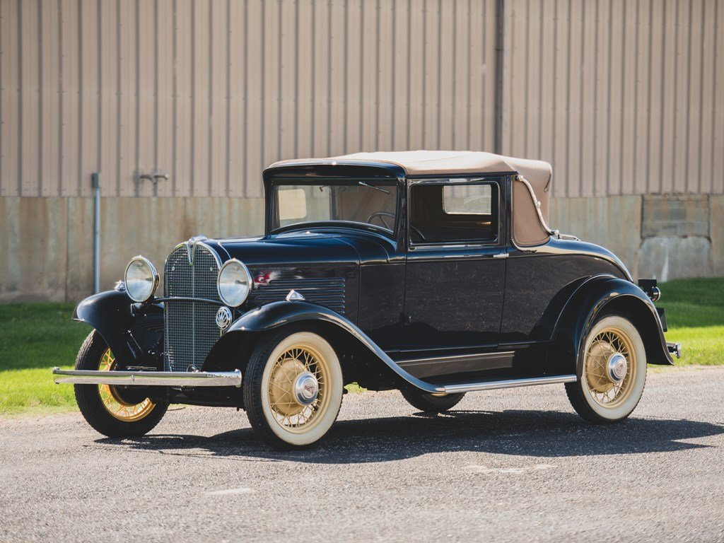 1931 Willys Six Model 97A Sport Coupe  For Sale by Auction (picture 1 of 6)
