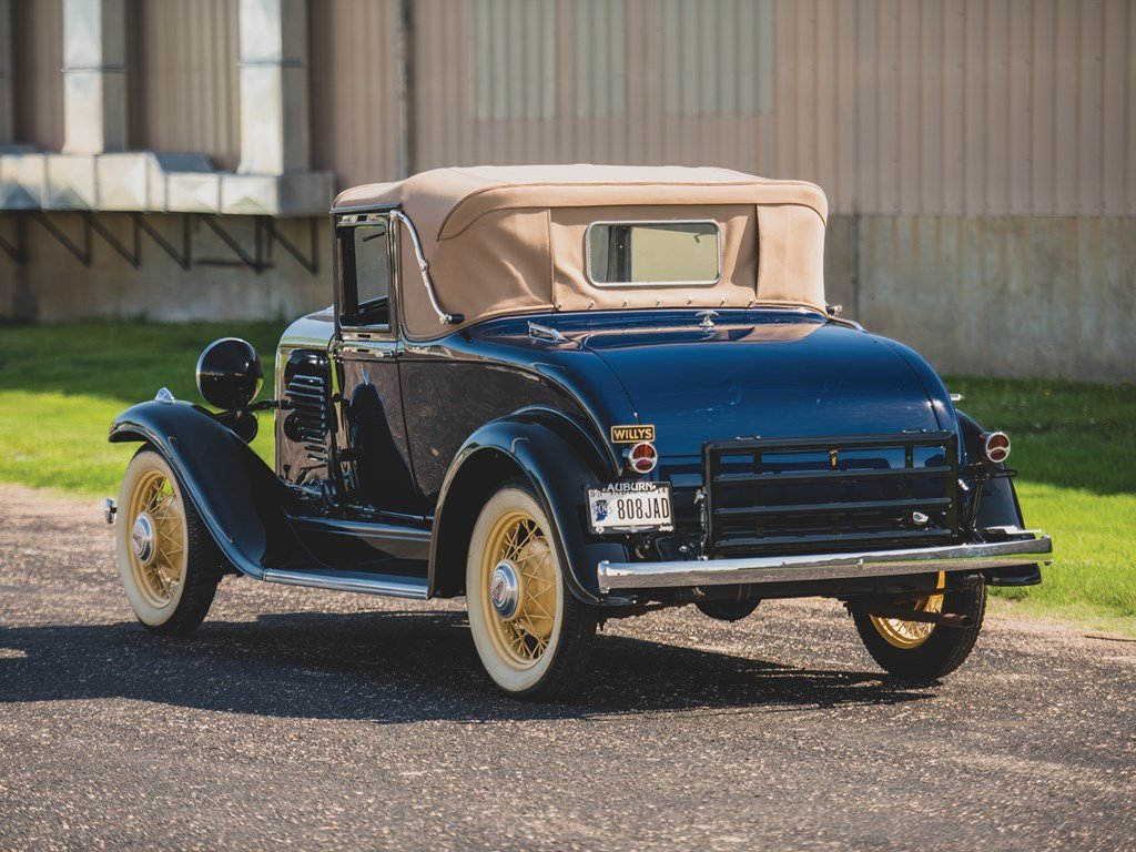 1931 Willys Six Model 97A Sport Coupe  For Sale by Auction (picture 2 of 6)