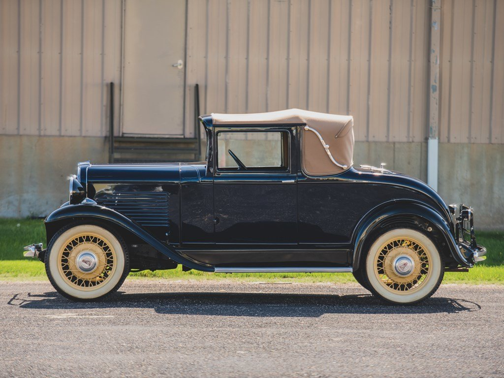1931 Willys Six Model 97A Sport Coupe  For Sale by Auction (picture 5 of 6)