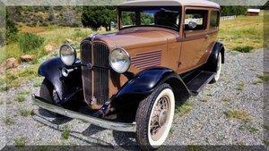 1932 Willy's Overland 6-90 Tudor 2 Door HardTop very Rare