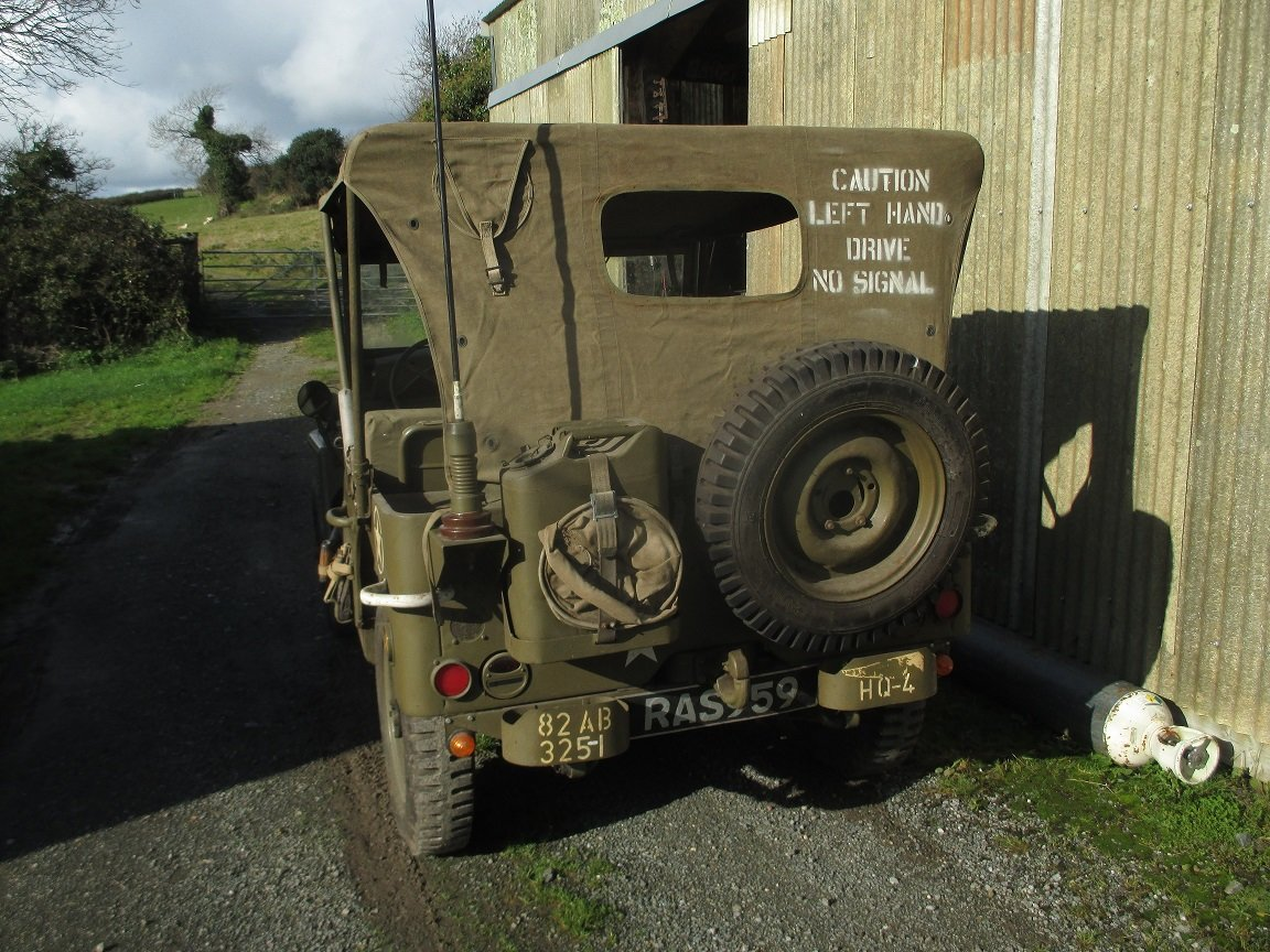 1943 willys jeep gpw genuine ww2 jeep For Sale (picture 2 of 6)
