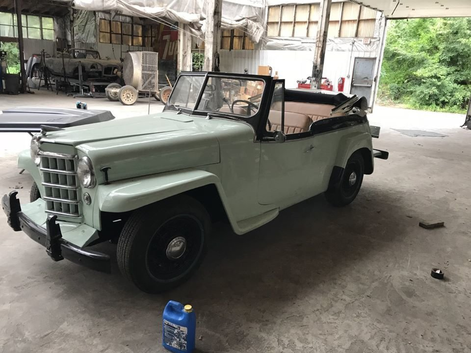 1951 Willys jeepster Resto mod (Bridgeton, NJ) $35,000 obo For Sale (picture 1 of 5)