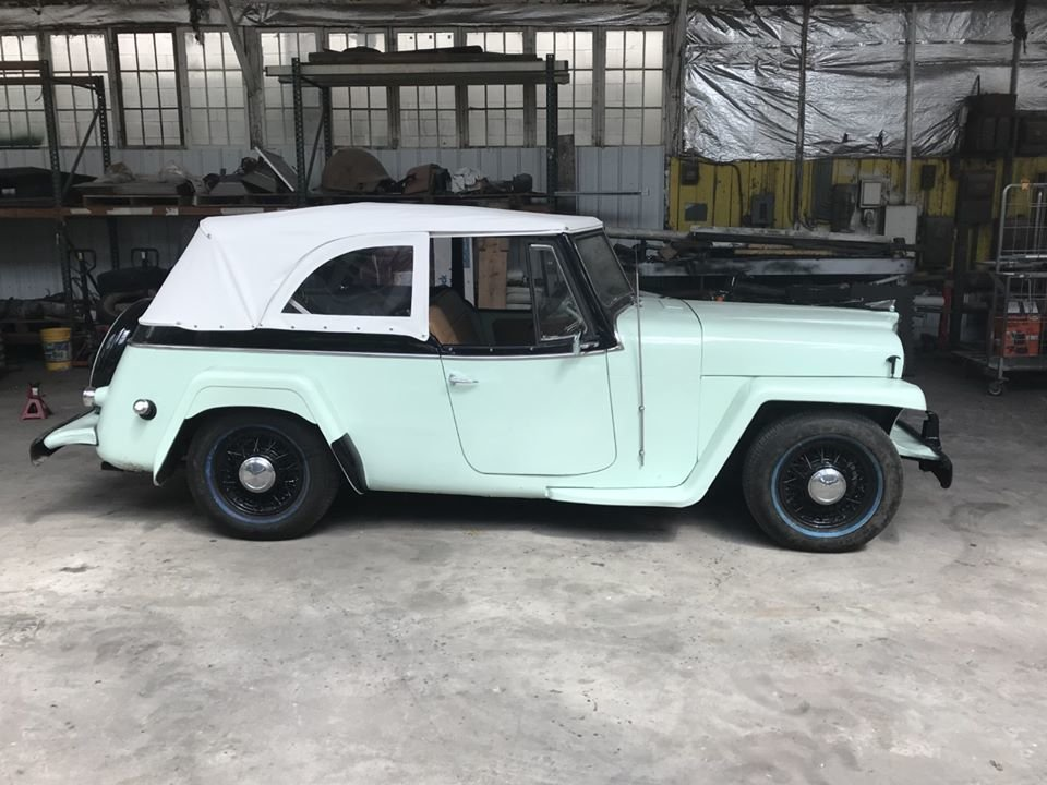 1951 Willys jeepster Resto mod (Bridgeton, NJ) $35,000 obo For Sale (picture 2 of 5)