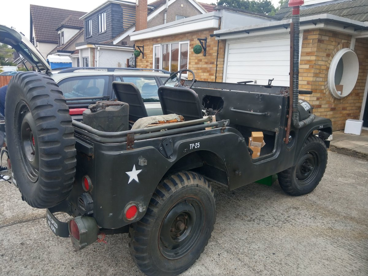 1954 US Army M38a1 Jeep - Unfinished Project SOLD (picture 1 of 4)