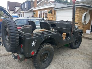 1954 US Army M38a1 Jeep - Unfinished Project For Sale